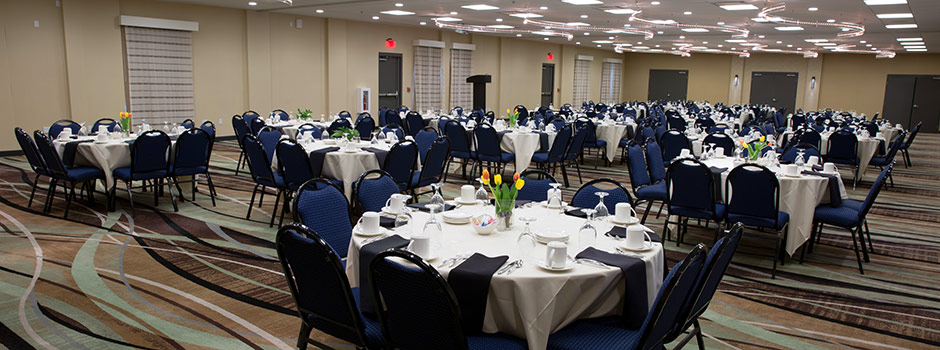 Meeting and event space at our hotel in Marshfield, Wi