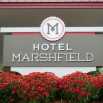 Hotel Marshfield Sign